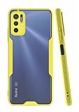 Eiroo Painted Xiaomi Poco M3 Pro Sarı Silikon Kılıf