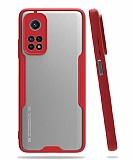 Eiroo Painted Xiaomi Mi 10T / Mi 10T Pro Kamera Korumalı Kırmızı Kılıf
