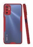 Eiroo Painted Xiaomi Redmi Note 10 5G Kırmızı Silikon Kılıf