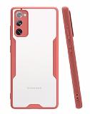 Eiroo Painted Samsung Galaxy S20 FE Pembe Silikon Kılıf