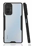 Eiroo Painted Xiaomi Redmi Note 10 Pro Kamera Korumalı Siyah Kılıf
