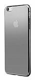 Eiroo Pente iPhone 6 Plus / 6S Plus Siyah Rubber Kılıf