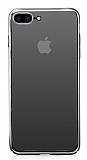 Eiroo Pente iPhone 7 Plus Siyah Rubber Kılıf