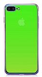 Eiroo Pente iPhone 7 Plus Yeşil Rubber Kılıf