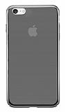 Eiroo Pente iPhone 7 Siyah Rubber Kılıf