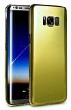 Eiroo Pente Samsung Galaxy S8 Plus Sarı Rubber Kılıf