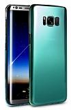Eiroo Pente Samsung Galaxy S8 Yeşil Rubber Kılıf