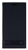 LG G5 Gizli Mıknatıslı Siyah Deri Kılıf