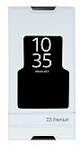 Sony Xperia Z5 Premium Gizli Mıknatıslı Pencereli Beyaz Deri Kılıf