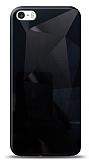 Eiroo Prizma iPhone SE / 5 / 5S Siyah Rubber Kılıf