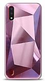 Eiroo Prizma Samsung Galaxy A01 Pembe Rubber Kılıf