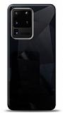 Eiroo Prizma Samsung Galaxy S20 Ultra Siyah Rubber Kılıf