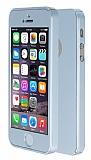 Eiroo Protect Fit 360 iPhone SE / 5 / 5S Tam Koruma Silver K�l�f