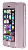 Eiroo Protect Fit 360 iPhone SE / 5 / 5S Tam Koruma Rose Gold K�l�f