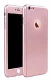 Eiroo Protect Fit iPhone 6 Plus / 6S Plus 360 Derece Koruma Rose Gold Rubber Kılıf