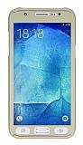 Eiroo Protect Fit Samsung Galaxy J5 360 Derece Koruma Gold Kılıf