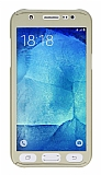 Eiroo Protect Fit Samsung Galaxy J7 360 Derece Koruma Gold Kılıf