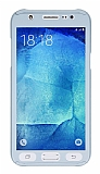 Eiroo Protect Fit Samsung Galaxy J7 360 Derece Koruma Silver Kılıf