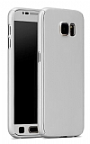 Eiroo Protect Fit Samsung Galaxy Note 5 360 Derece Koruma Silver Kılıf
