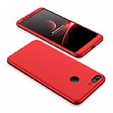 Eiroo Protect Fit Huawei P Smart 360 Derece Koruma Kırmızı Rubber Kılıf