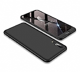 Eiroo Protect Fit Huawei P20 360 Derece Koruma Siyah Rubber Kılıf
