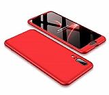 Eiroo Protect Fit Huawei P20 360 Derece Koruma Kırmızı Rubber Kılıf