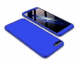 Eiroo Protect Fit Huawei Y5 2018 360 Derece Koruma Lacivert Rubber Kılıf