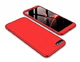 Eiroo Protect Fit Huawei Y5 2018 360 Derece Koruma Kırmızı Rubber Kılıf