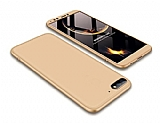 Eiroo Protect Fit Huawei Y5 2018 360 Derece Koruma Gold Rubber Kılıf
