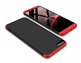Eiroo Protect Fit Huawei Y5 2018 360 Derece Koruma Kırmızı-Siyah Rubber Kılıf