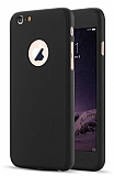 Eiroo Protect Fit iPhone 6 Plus / 6S Plus 360 Derece Koruma Siyah Kılıf