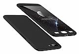 Eiroo Protect Fit OnePlus 5 360 Derece Koruma Siyah Rubber Kılıf