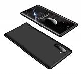 Zore GKK Ays Samsung Galaxy Note 10 360 Derece Koruma Siyah Rubber Kılıf