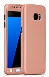 Eiroo Protect Fit Samsung Galaxy Note 5 360 Derece Koruma Rose Gold Kılıf