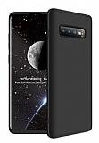 Eiroo Protect Fit Samsung Galaxy S10 Plus 360 Derece Koruma Siyah Rubber Kılıf