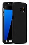 Eiroo Protect Fit Samsung Galaxy S6 360 Derece Koruma Siyah Rubber Kılıf