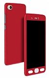 Eiroo Protect Fit Xiaomi Mi 5s 360 Derece Koruma Kırmızı Kılıf