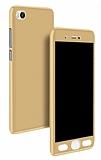 Eiroo Protect Fit Xiaomi Mi 5s 360 Derece Koruma Gold Kılıf