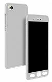 Eiroo Protect Fit Xiaomi Mi 5s 360 Derece Silver Beyaz Kılıf