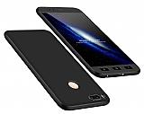Eiroo Protect Fit Xiaomi Mi 5X / Mi A1 360 Derece Koruma Siyah Rubber Kılıf