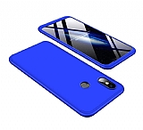 Eiroo Protect Fit Xiaomi Mi 8 360 Derece Koruma Lacivert Rubber Kılıf