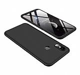 Eiroo Protect Fit Xiaomi Mi 8 360 Derece Koruma Siyah Rubber Kılıf