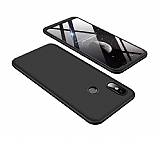 Eiroo Protect Fit Xiaomi Mi 8SE 360 Derece Koruma Siyah Rubber Kılıf