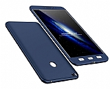 Eiroo Protect Fit Xiaomi Mi Max 2 360 Derece Koruma Lacivert Rubber Kılıf