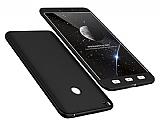 Eiroo Protect Fit Xiaomi Mi Max 2 360 Derece Koruma Siyah Rubber Kılıf