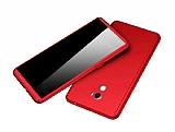 Eiroo Protect Fit Xiaomi Mi Mix 2 360 Derece Koruma Kırmızı Rubber Kılıf