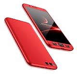 Eiroo Protect Fit Xiaomi Mi Note 3 360 Derece Koruma Kırmızı Rubber Kılıf