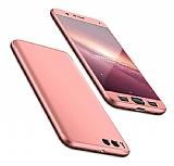 Eiroo Protect Fit Xiaomi Mi Note 3 360 Derece Koruma Rose Gold Rubber Kılıf
