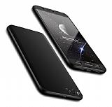 Eiroo Protect Fit Xiaomi Mi Note 3 360 Derece Koruma Siyah Rubber Kılıf