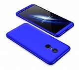 Eiroo Protect Fit Xiaomi Redmi 5 Plus 360 Derece Koruma Lacivert Rubber Kılıf